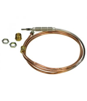 900mm Nickel Plated Gas Fire Universal Thermocouple