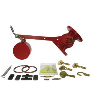 "½"" Free Fall Fire Valve & Kit PN16 Flanged"