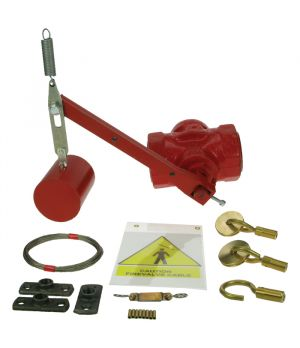 "½"" Free Fall Fire Valve & Kit Screwed Mounting"