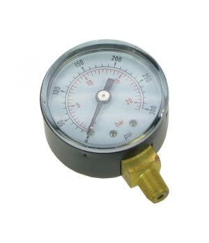 Basic Oil Pressure Gauge 0 - 300psi (0 - 20 bar)