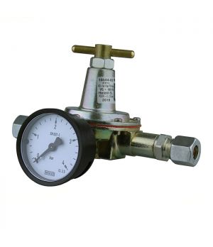 10mm Oil Pressure Regulator with Gauge