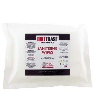 DIRT ERASE Hand Wipes - 35