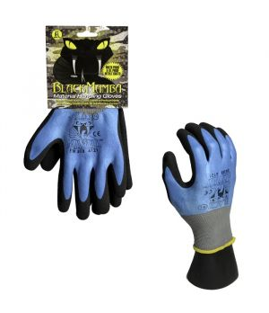 Black Mamba Material Handling Oil/Waterproof Gloves - Large
