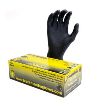 Black Mamba Torque Grip Gloves - Large