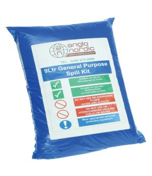 9 Litre Service Engineers General Spill Kit
