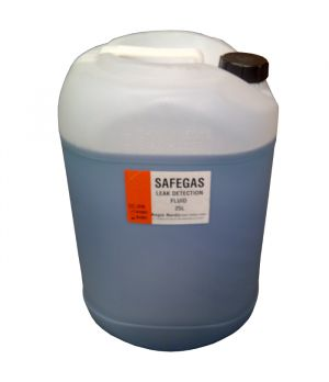 Safegas Leak Detection Refill Liquid 25 litre Drum