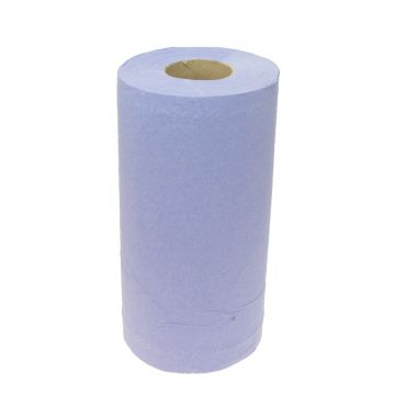 Blue Paper Towel Roll