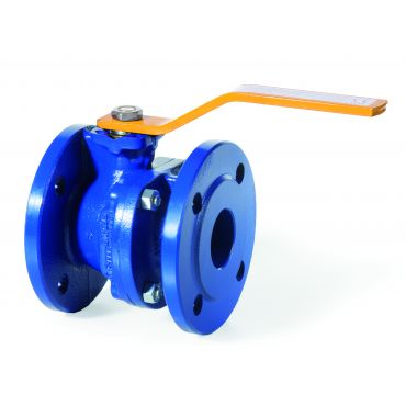 Geca Flanged Cast Iron Gas Ball Valves